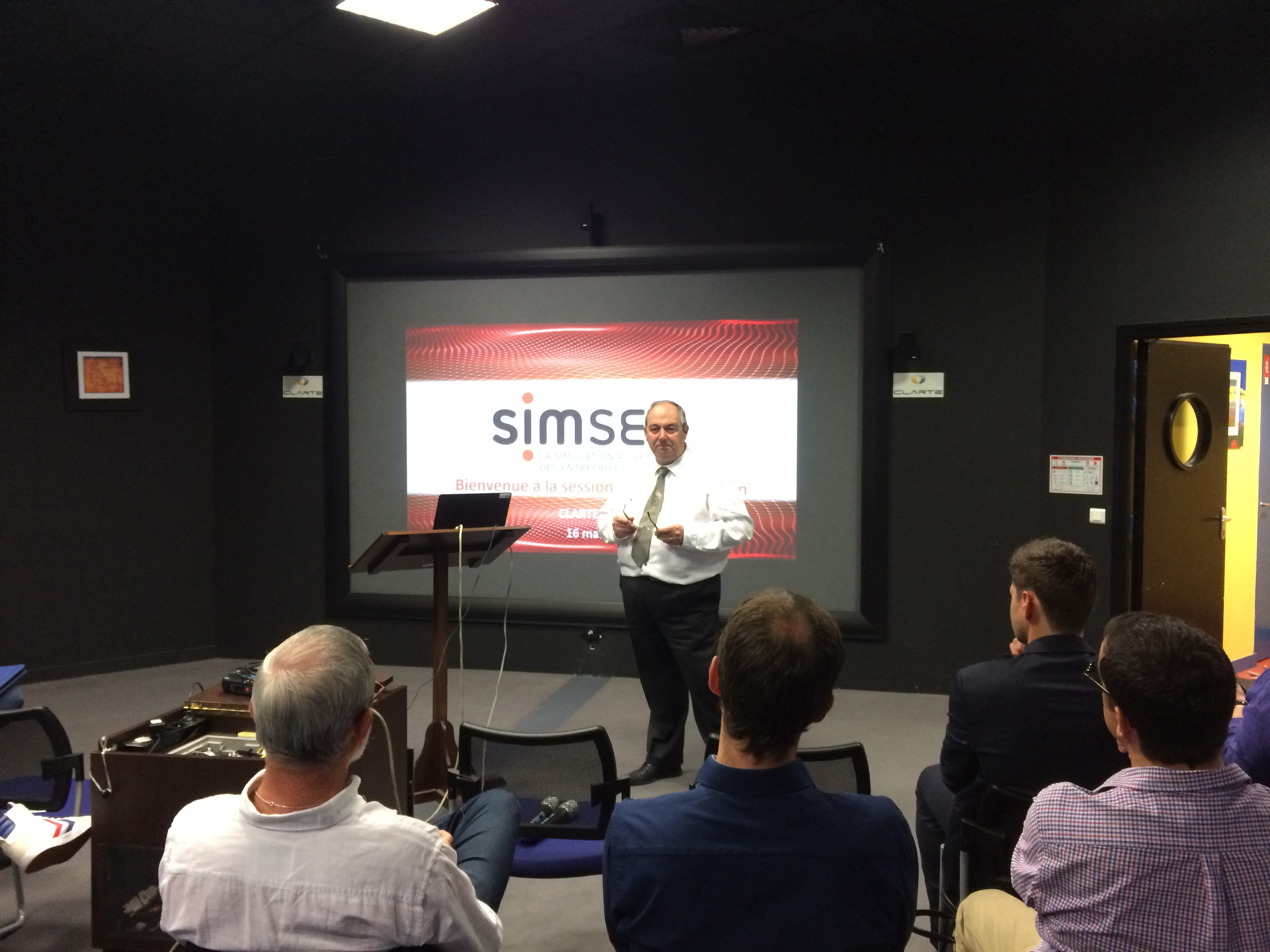 Intervention SIMSEO simulation numerique